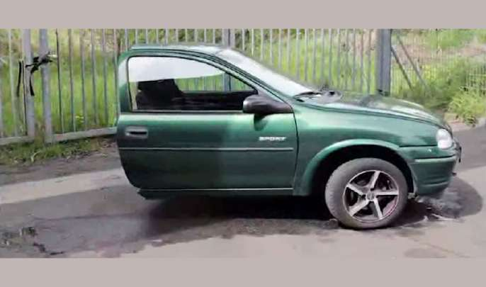 Half car