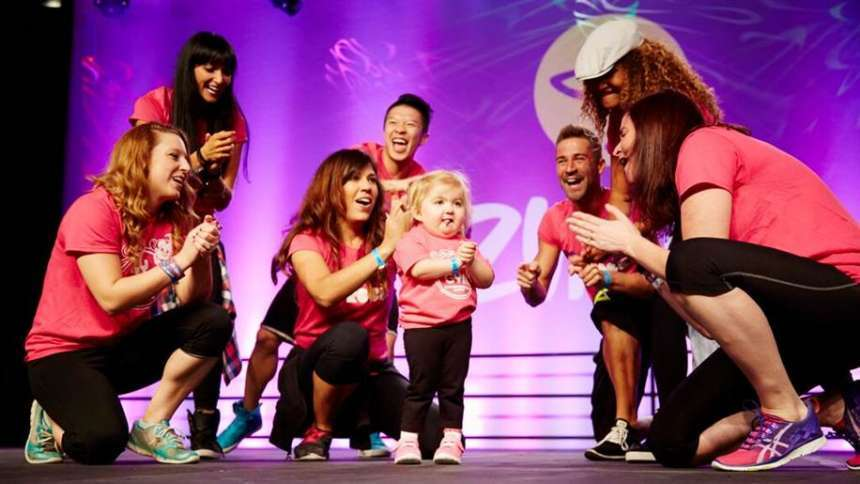 6-Year-Old Zumba Star: Audrey Nethery