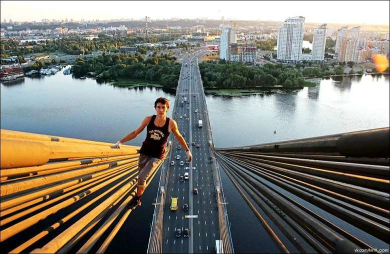 Russian Spiderman's Jaw-Dropping Photos