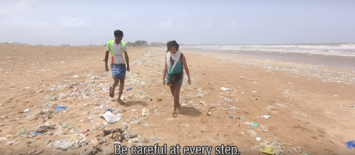 This Beach In Mumbai Is One Of The Biggest Outdoor Shitholes In The World