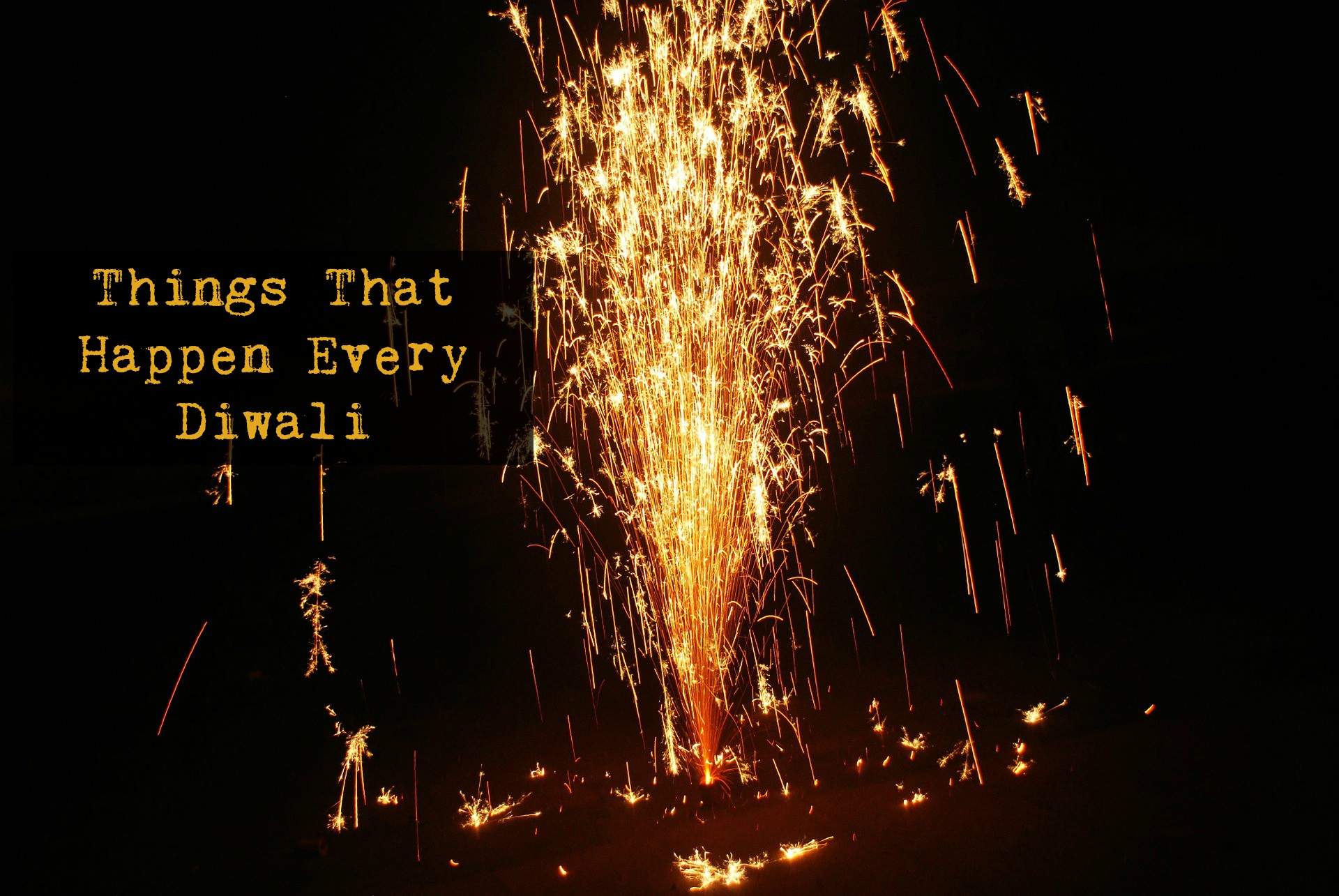 5 BAKK LOL Things That Happen Every Diwali!