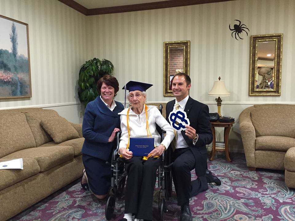 97-Year-Old Margaret Bekema Is The Oldest Person To Receive High School Diploma