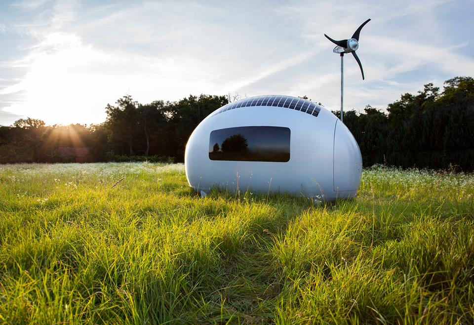Ecocapsule: World's First Self-Sustainable Mobile Home