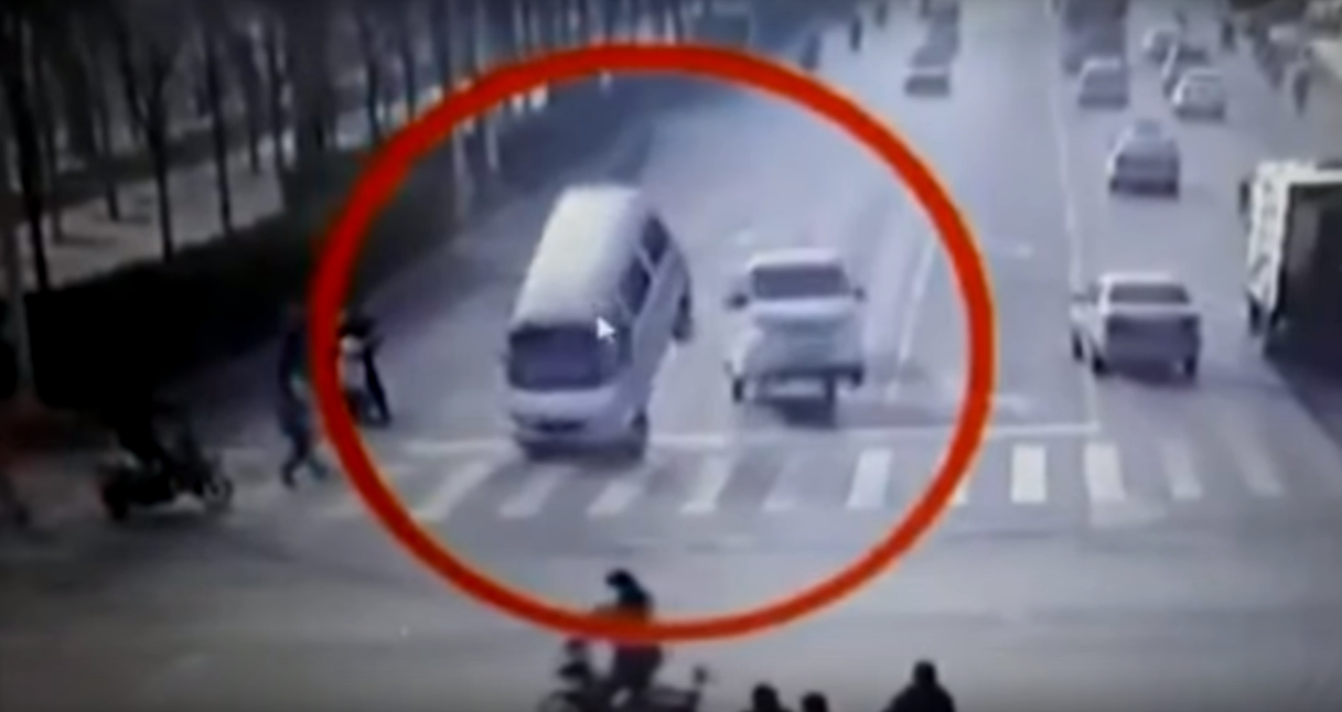 This Shocking Video Of 'Levitating Cars' Is Downright Terrifying & Creepy