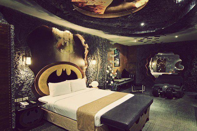 Taiwan Hotel Lets You Be The Batman