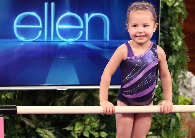 This Adorable 3-Year-Old Gymnast Will Melt Your Heart