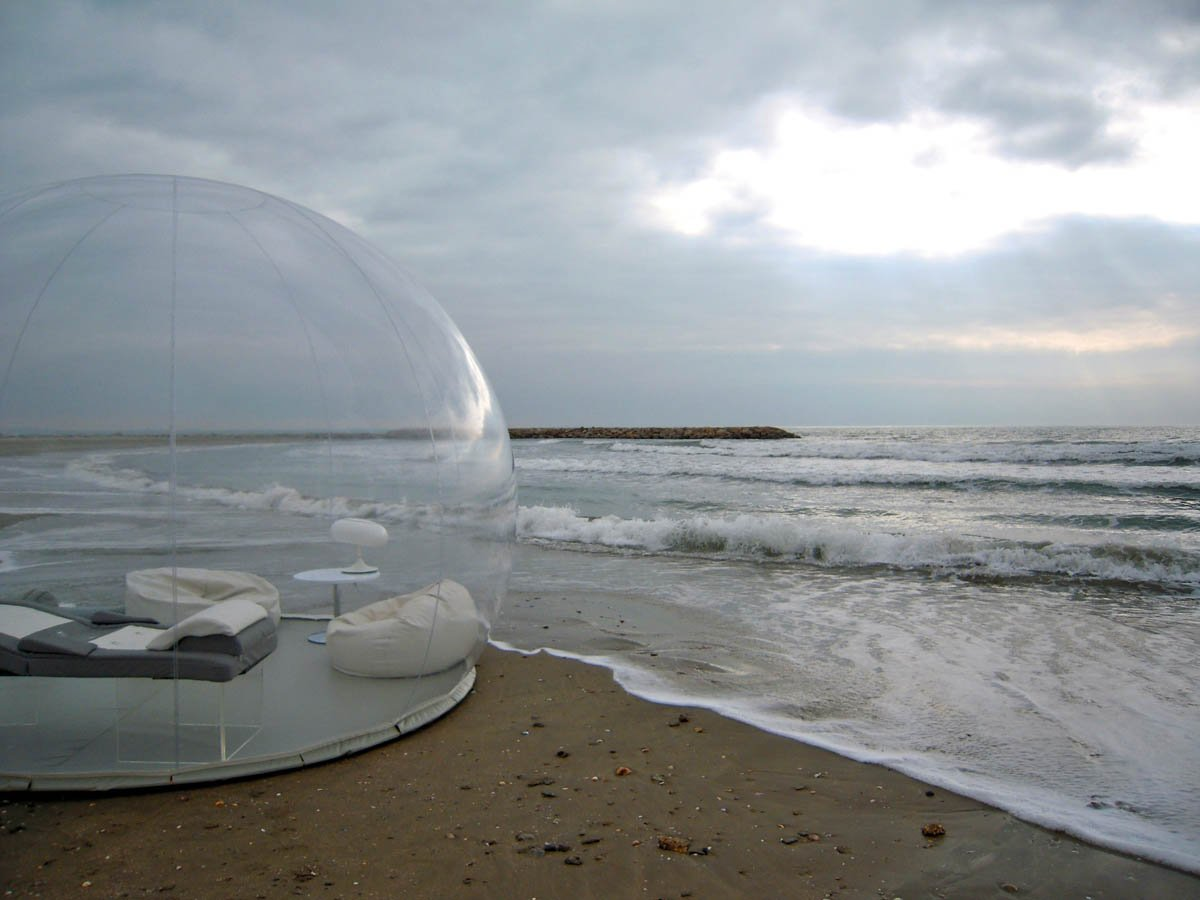This Transparent Bubble Tent Lets You Camp Anywhere