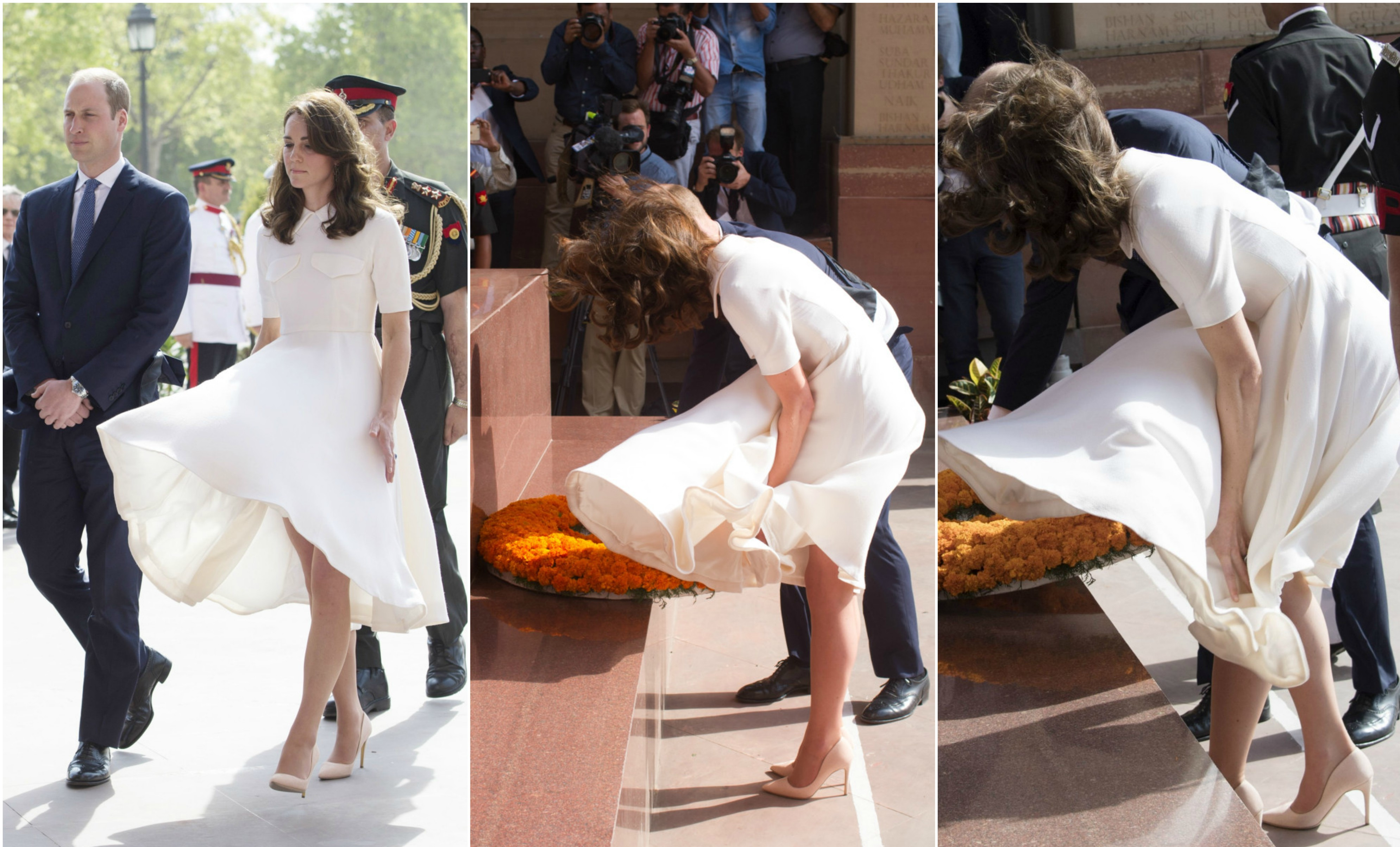 "TOI Did It Again: Glorified Kate Middleton's Embarrassing ""Marilyn Moment"""