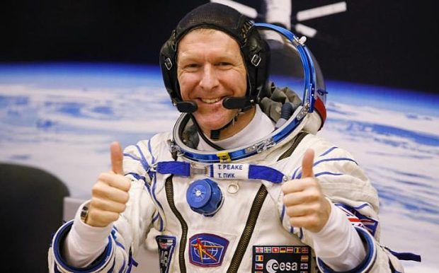 British astronaut sets new record for fastest marathon run in space