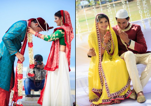 After trying to convince their families for three years, this Hindu-Muslim couple married ...