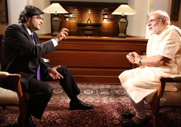 Arnab Speaks Frankly: Newshour Anchor Answers Criticism About His Interview With PM Modi