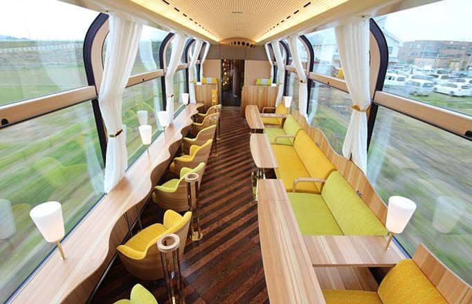 WATCH: Enjoy beauty at its serene best, Japan introduces train with WINDOWS instead of ...