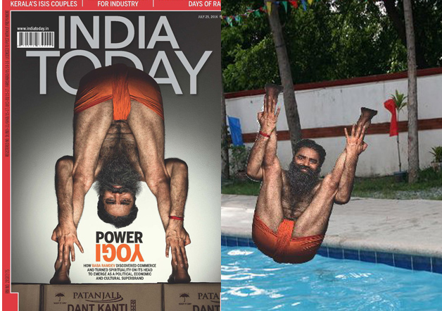 Yoga Guru Ramdev's Beard Defies Gravity In His Latest Photoshoot; Twitteratti Go Berserk