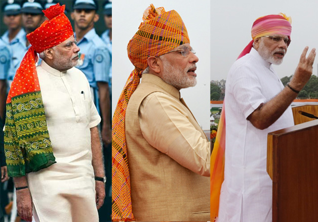 2014 to 2016: A look at PM Modi's 'oh-so-fashionable' Independence Day attires
