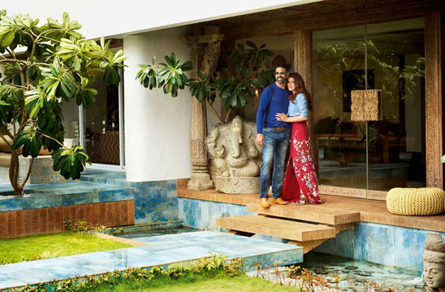 Check out the inside pics of Akshay Kumar and Twinkle Khanna's artistic mansion