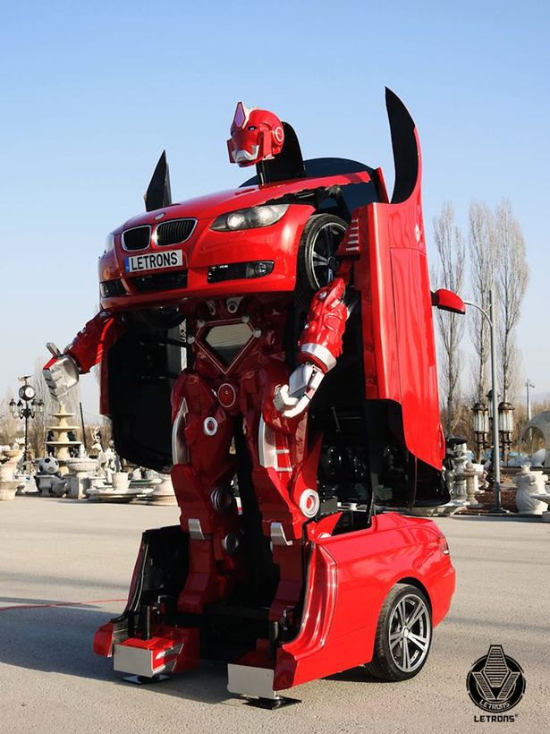 WATCH! THIS amazing BMW built by Turkish engineers is a real-life transformer (See Pics)