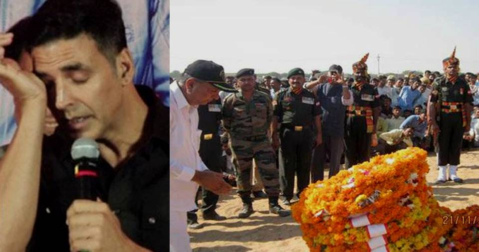 Akshay Kumar Donated 9 Lakh To Martyr Narpat Singh's Family Once Again Proving He ...