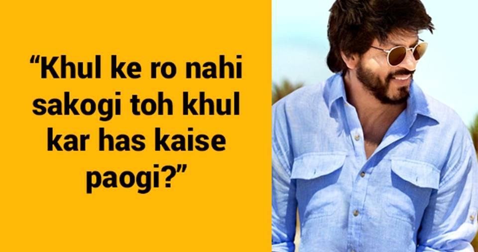 10 enriching 'life lessons' by Dr Jehangir Khan aka SRK in 'Dear Zindagi'