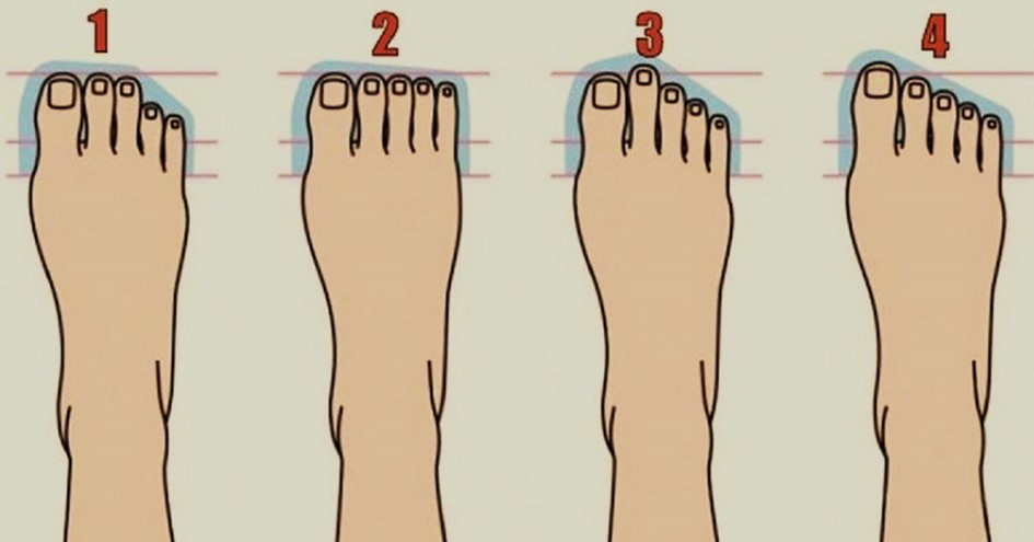 Find Out What Your Foot Type Says About Your Personality