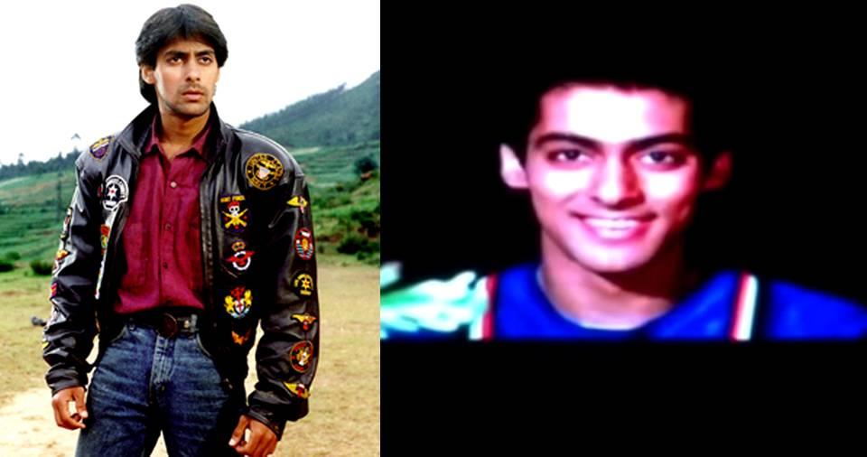 Watch Salman Khan's First Audition For 'Maine Pyar Kiya', A Movie That Made Him An ...