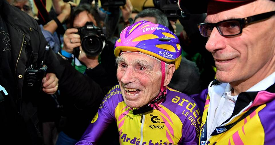 This 105-Year-Old Man Broke The World Record By Cycling 22.5 Km In One Hour And ...