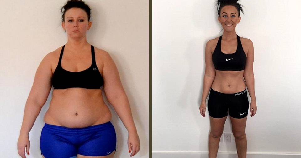 OMG!! This Is The Reason Why This Woman Lost 35 Kgs!